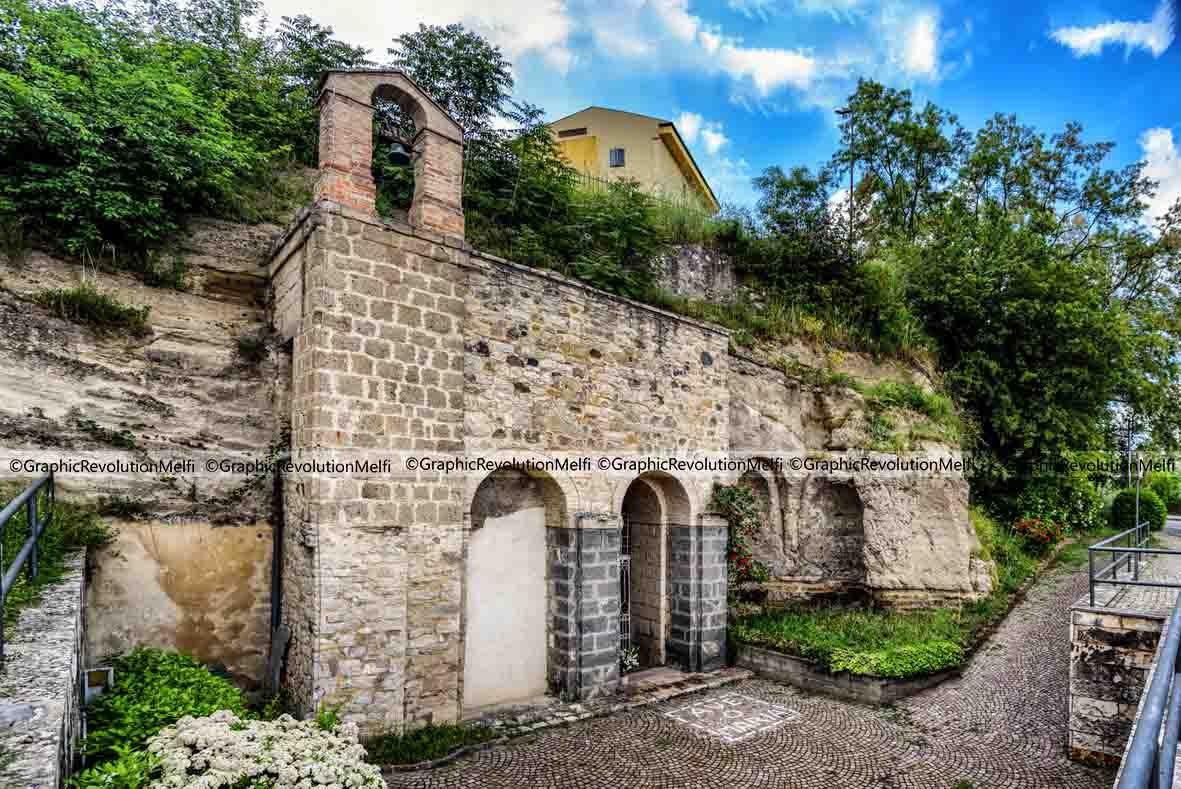 Melfi chiesa rupestre spinelle Santo Stefano