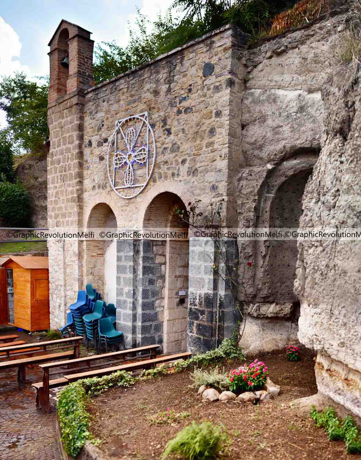 papa urbano spinelle melfi chiesa rupestre madonna