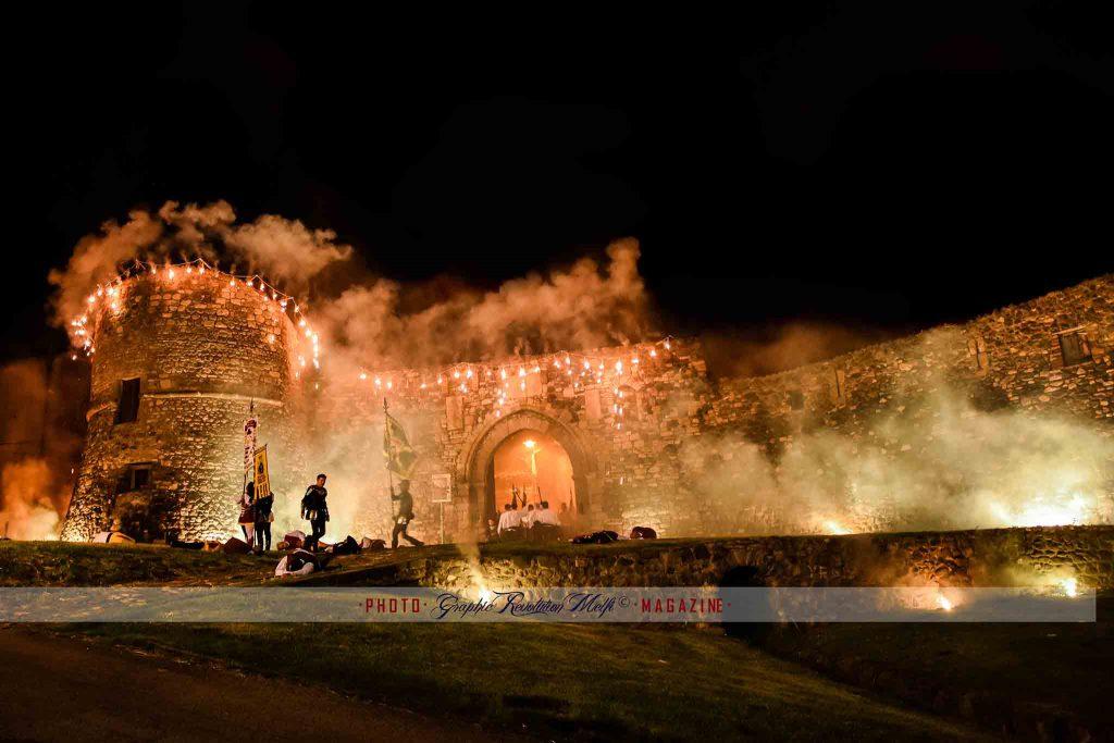 """Melfi: più di 490 anni fa, nella tragica notte del 22 Marzo 1528 iniziava l'assedio de """"la Pasqua di Sangue""""!"""