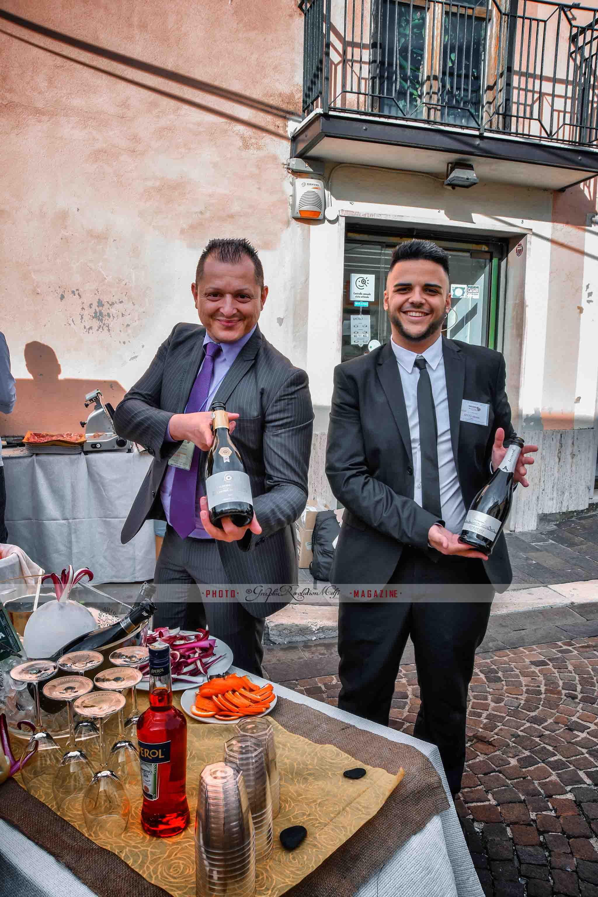 Il cocktail Vulture's ice per Basilicata a Tavola istituto beltrame