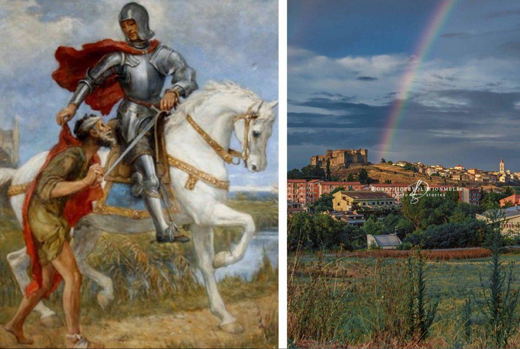 Oggi, 11 Novembre, è l'Estate di San Martino! Fu Patrono di Melfi e col suo mantello…