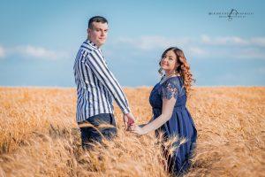 Prematrimoniale tra grano e lavanda in Basilicata | Fabiana & Gianni