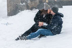 Fotografie Pre matrimoniale tra la neve a Melfi | Gianni & Fabiana