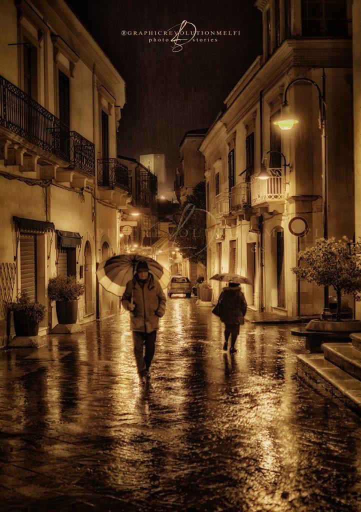passanti melfi pioggia ronca battista santa maria centro storico castello graphic revolution melfi