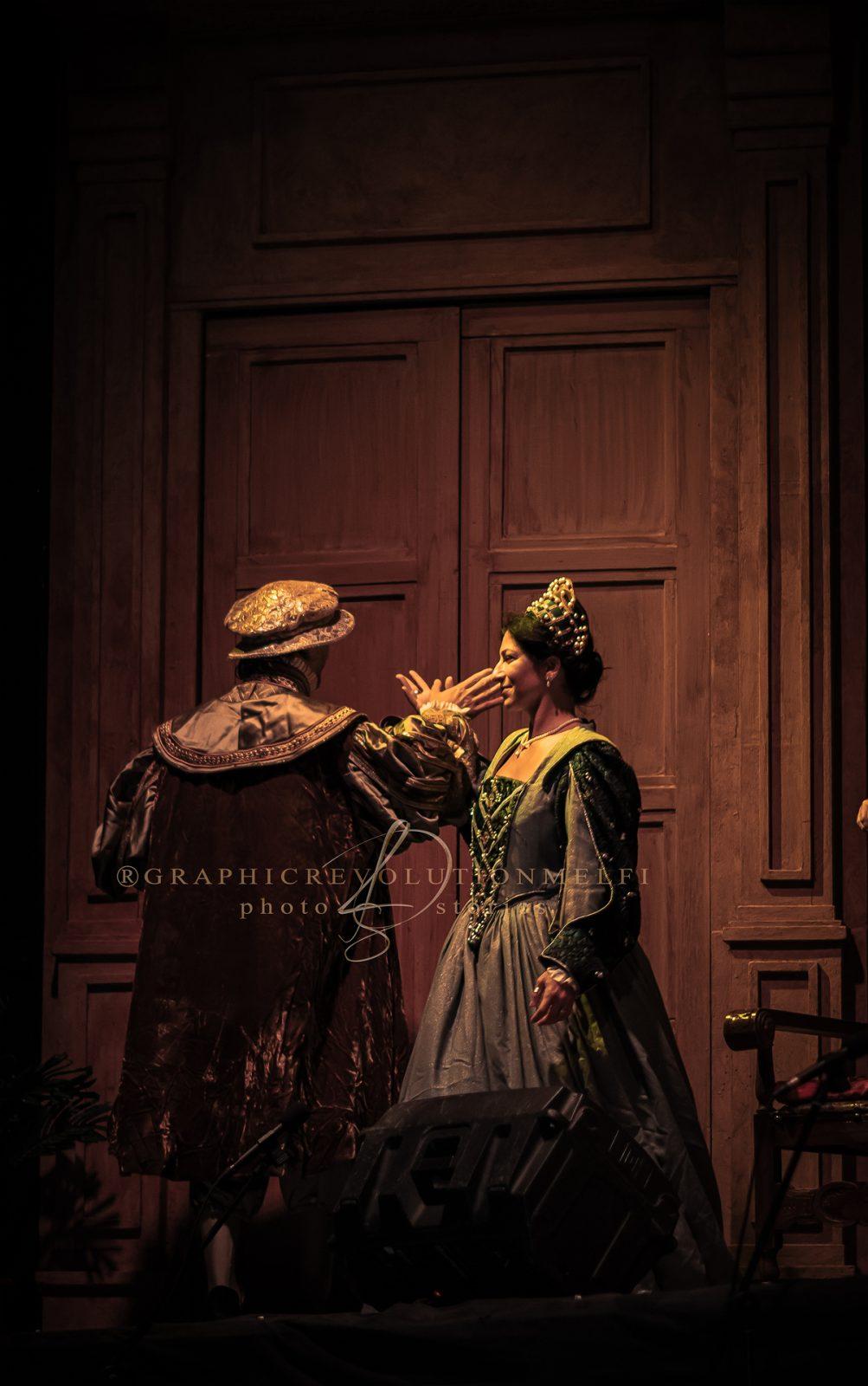 L'opera i Rigoletto al Castello di Melfi giuseppe verdi la camerata delle arti fotografo teatro