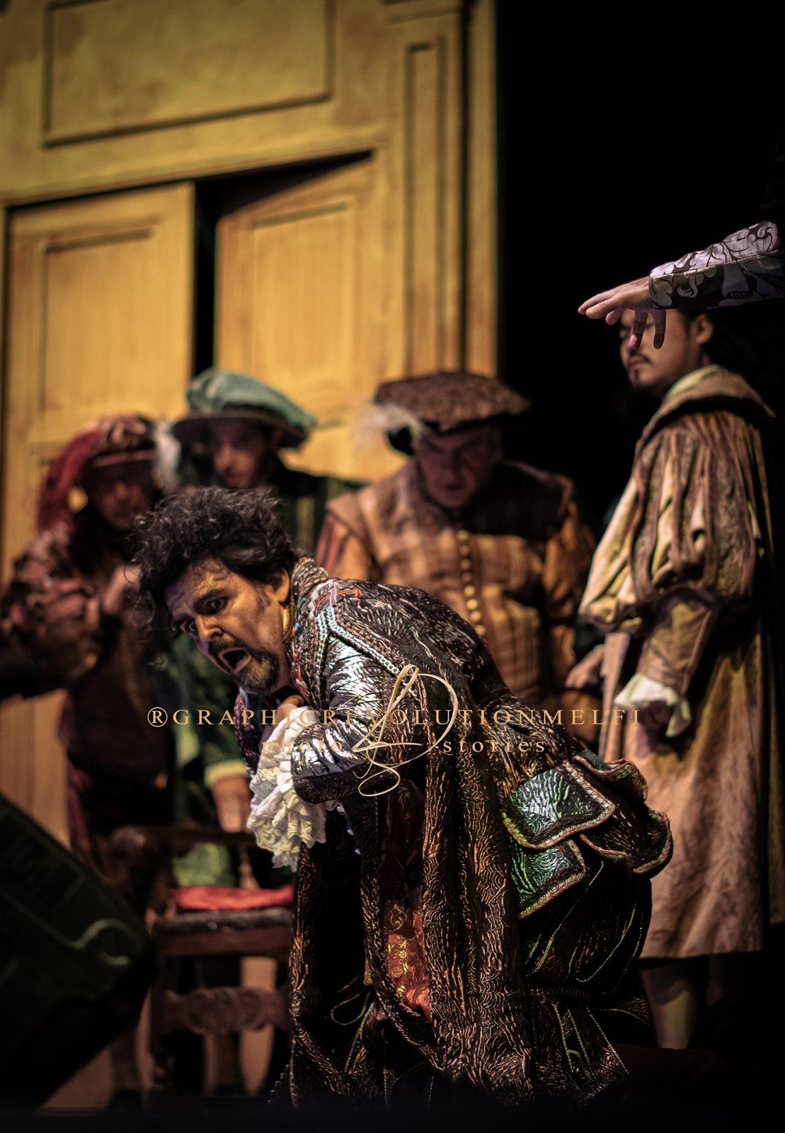 L'opera Il Rigoletto al Castello di Melfi giuseppe verdi la camerata delle arti fotografo teatro