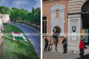Melfi e la Festa della Liberazione d'Italia:  le foto del ricordo del 25 Aprile 2021