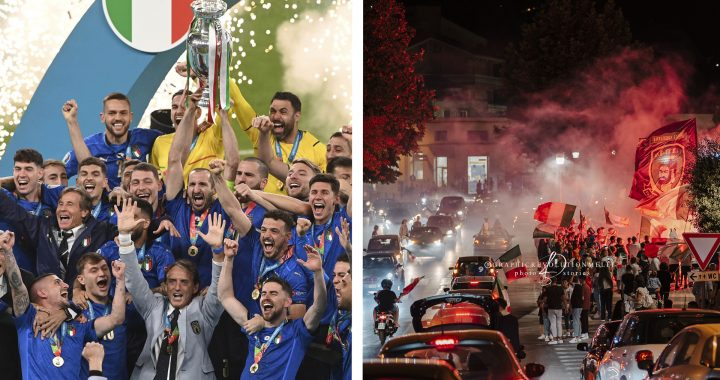 Italia Campione d'Europa: a Melfi festa grande per la vittoria degli Europei 2021